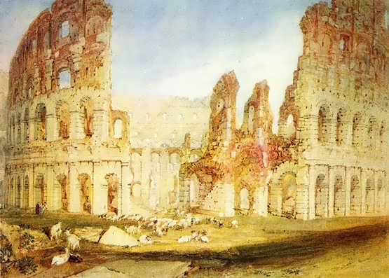 Turner-Rome-TheColosseum