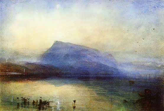 Turner-TheBlueRigi-LakeofLucerne-Sunrise