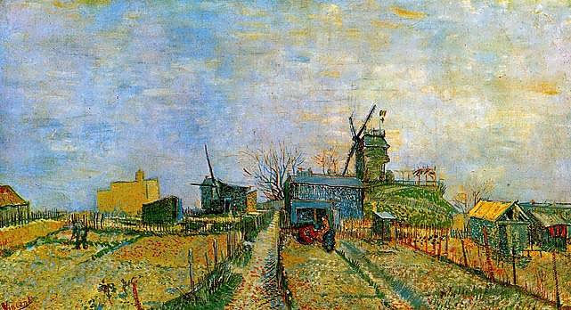 VanGogh-VegetableGardensinMontmartre