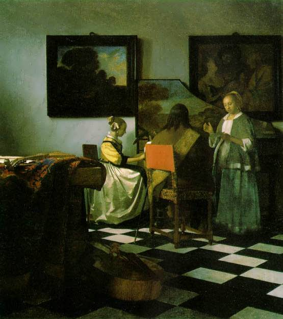 Vermeer-TheConcert