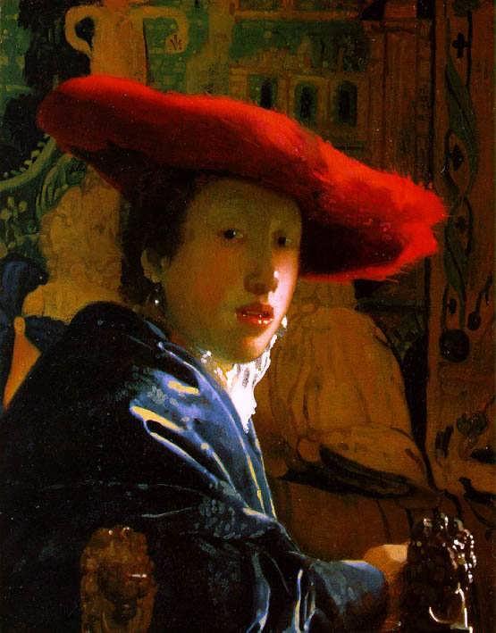 Vermeer-TheGirlwiththeRedHat1