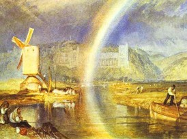 William_Turner._Arundel_Castle,_with_Rainbow._c._1824._Watercolour_on_paper._British_Museum