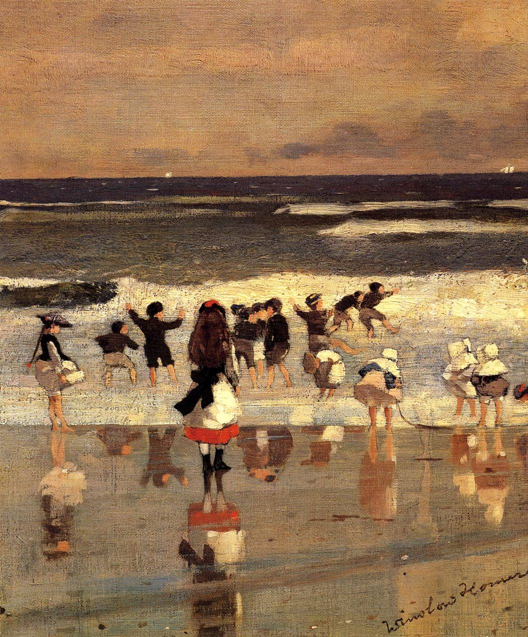WinslowHomer-BeachSceneakaChildrenintheSurf
