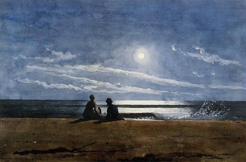 WinslowHomer-Moonlight