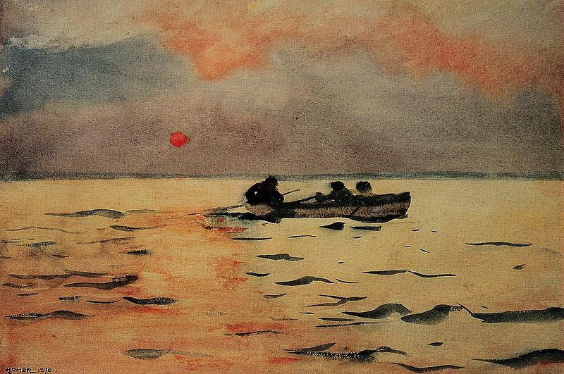 Winslow_Homer_Rowing_Home
