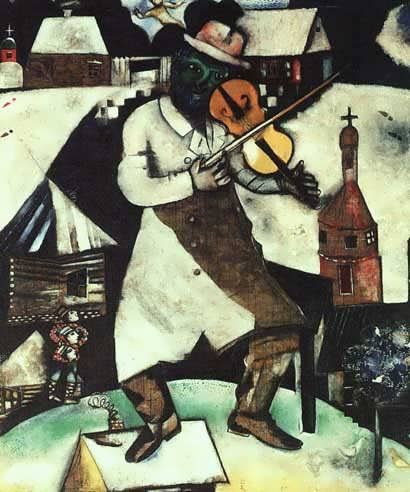 chagall_the_fidler