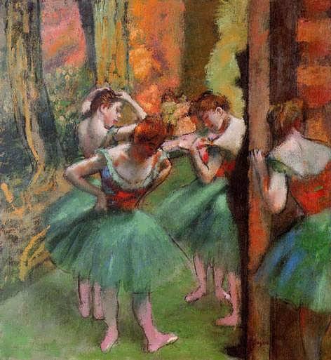 degas-DancersPinkandGreen
