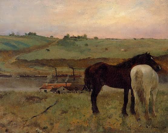 degas-HorsesinaMeadow