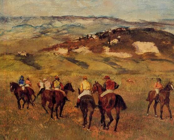 degas-Racehorses