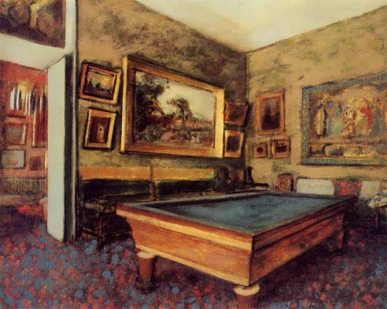 degas-TheBilliardRoomatMenil-Hubert