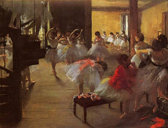 degas-TheDanceClass