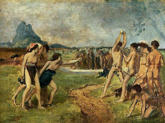 degas-YoungSpartansExercising