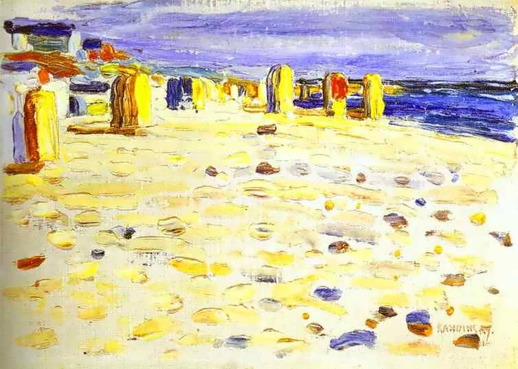 kandinsky-BeachBasketsinHolland