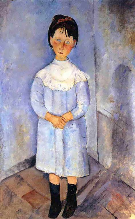 modigliani-LittleGirlinBlue
