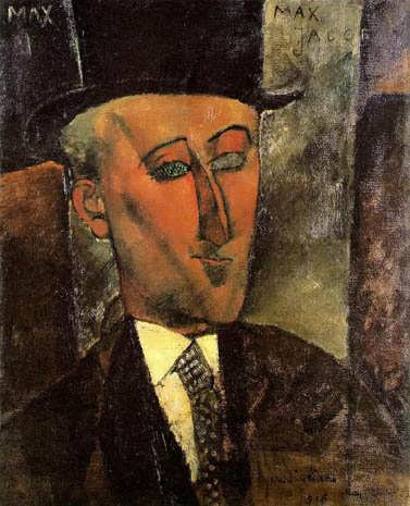 modigliani-PortraitofMaxJacob