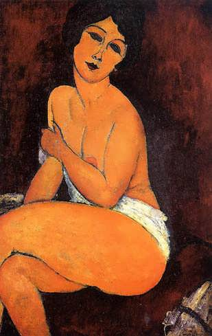 modigliani-SeatedNude