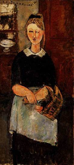 modigliani.Thepretty-housewife