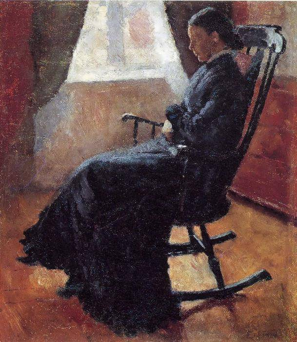 munch-AuntKarenintheRockingChair