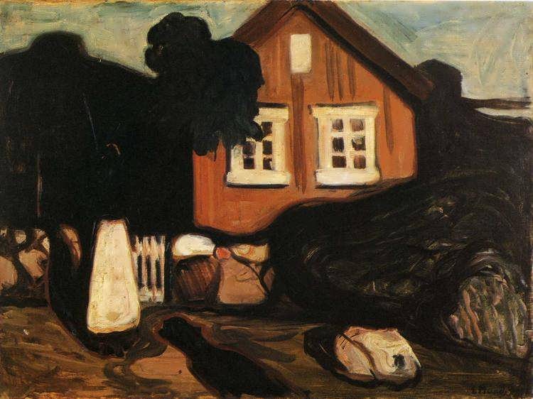 munch-HouseinMoonlight