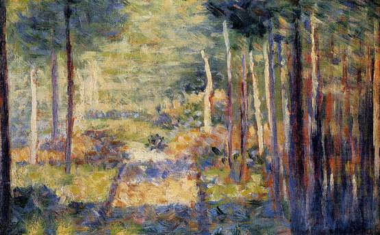 seurat-ForestPathBarbizon