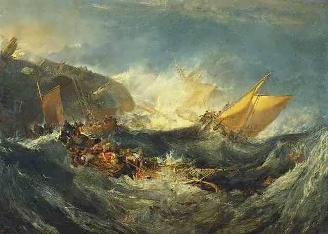 turner-theshipwreckoftheminotaur
