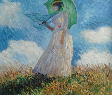 Femme with Umbrella