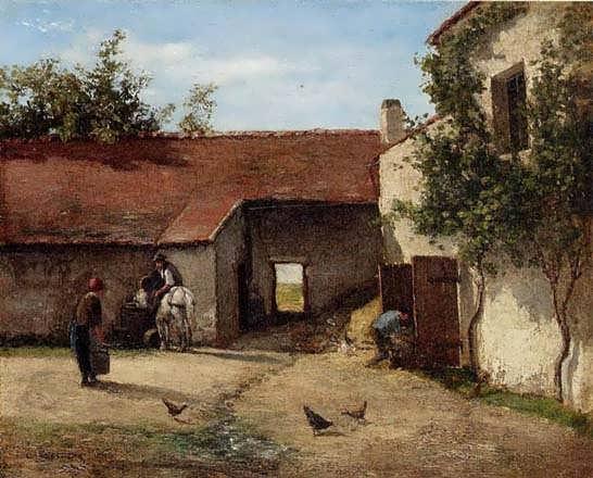 CamillePissarro-Farmyard