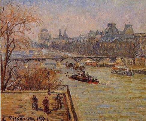 CamillePissarro-TheLouvre
