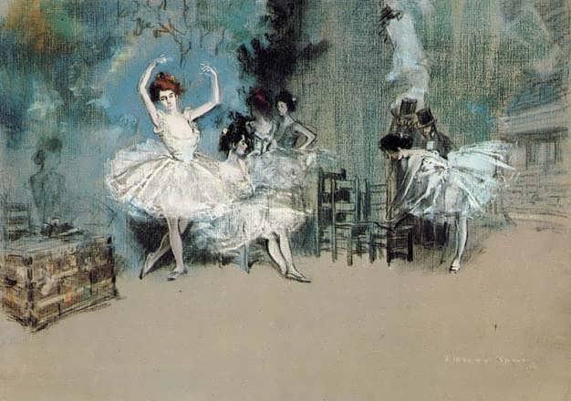 EverettShinn-BalletDancers