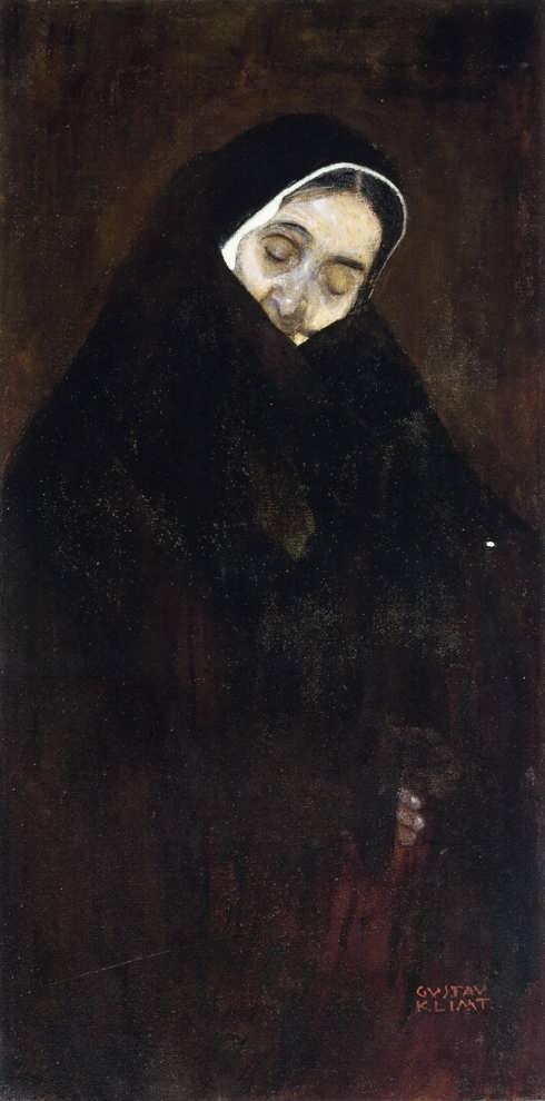 GustavKlimt-OldWoman
