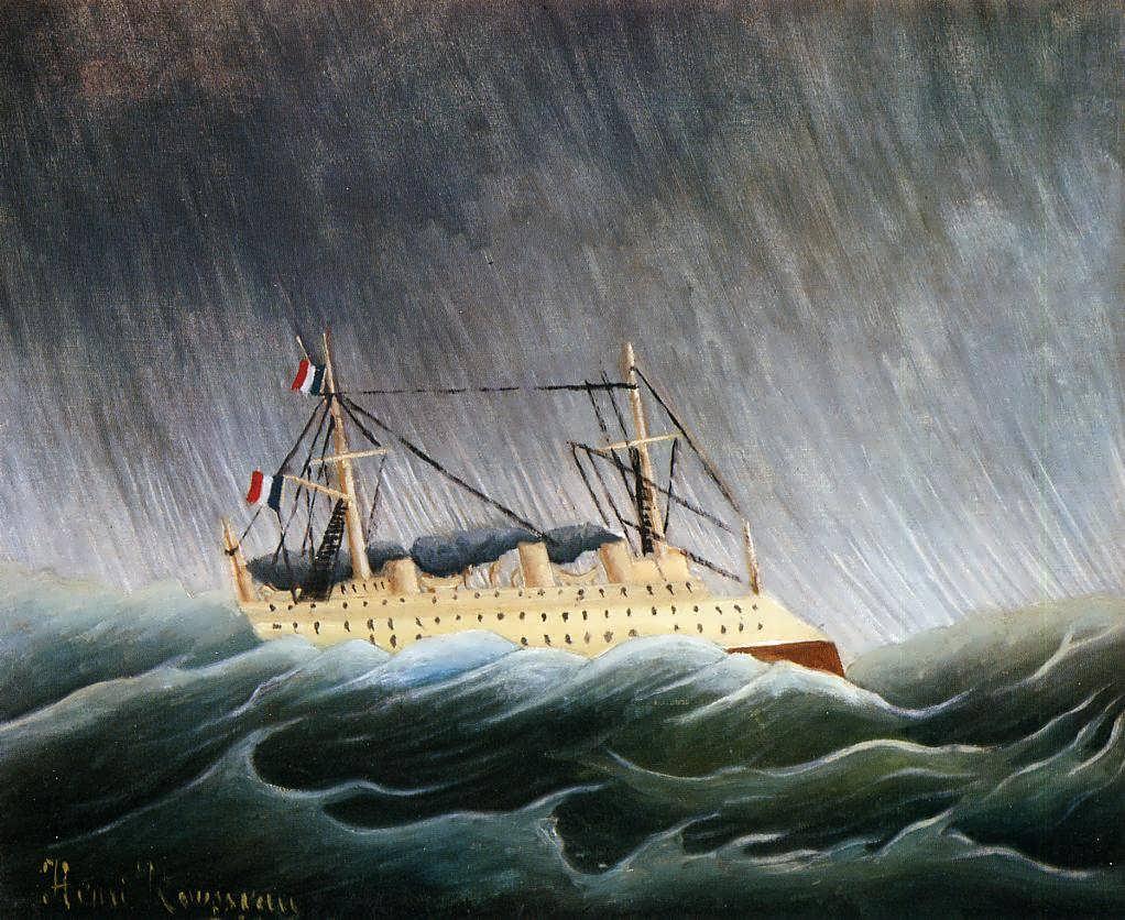HenriRousseau-BoatinaStorm