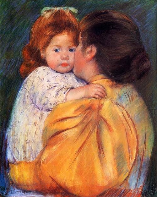 MaryCassatt-MaternalKiss