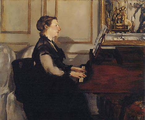 MmeManetatthepiano