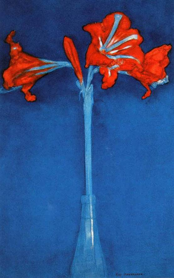 Mondrian-Amaryllis