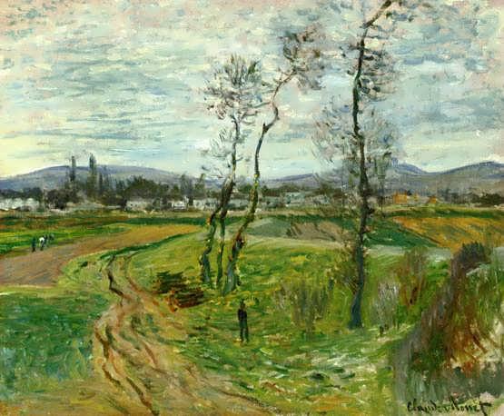 Monet-AFieldatGennevilliers