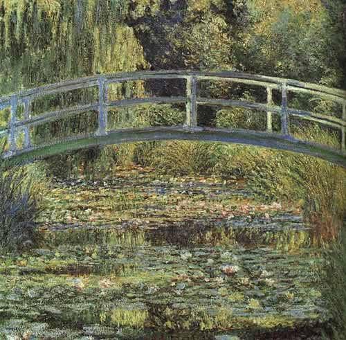 Monet-Waterlilliepond