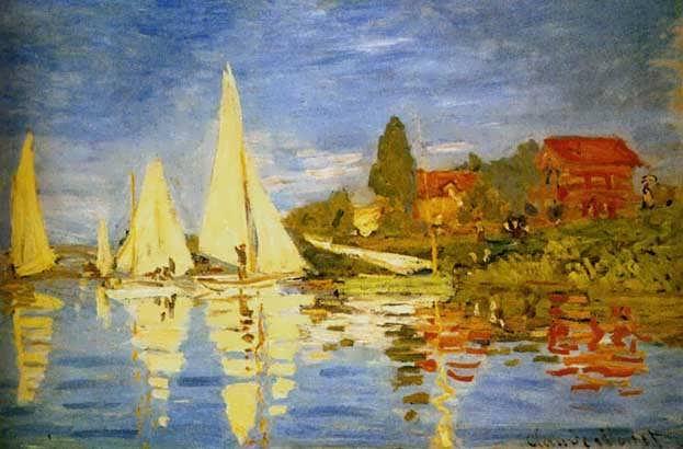Monet_Regatta_At_Argenteuil