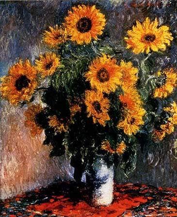 Monet_Sunflowers