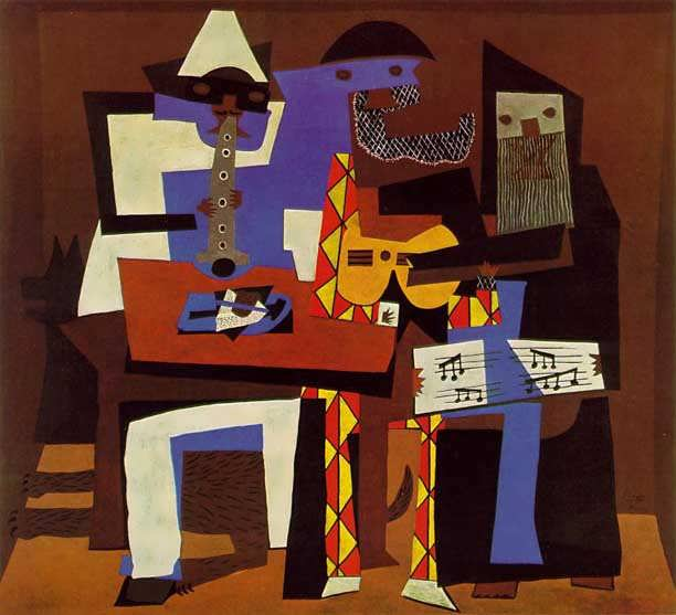 Picasso-3musicians