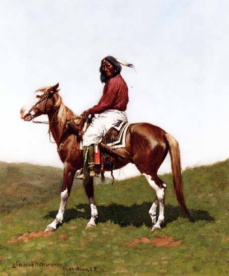 Remington-ComancheBraveFortRenoIndianTerritory