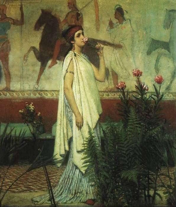 SirLawrenceAlma-Tadema-AGreekWoman