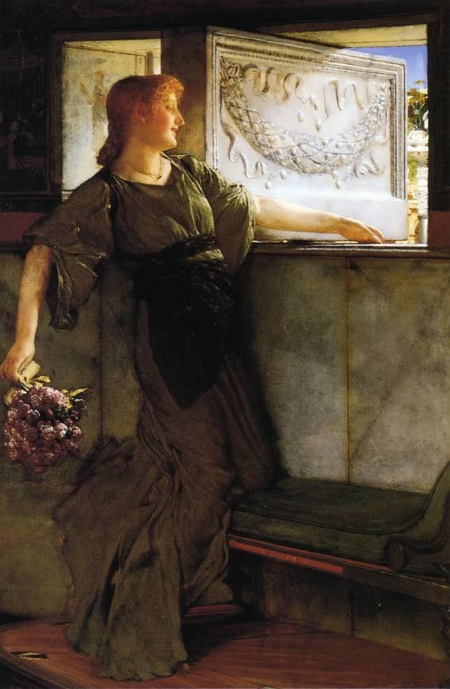 SirLawrenceAlma-Tadema-ALoveMissle