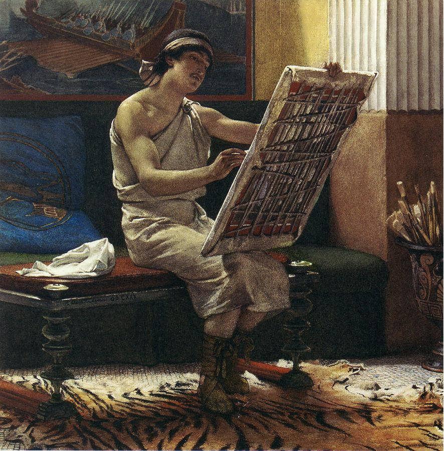 SirLawrenceAlma-Tadema-ARomanArtist