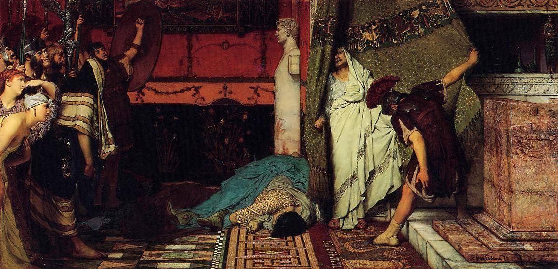 SirLawrenceAlma-Tadema-ARomanEmperor-Claudius