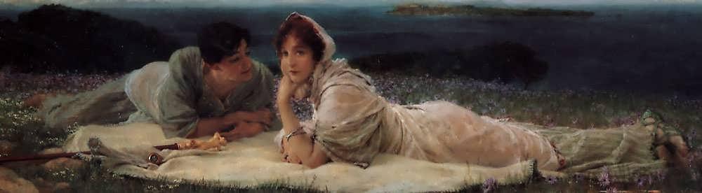 SirLawrenceAlma-Tadema-AWorldofTheirOwn