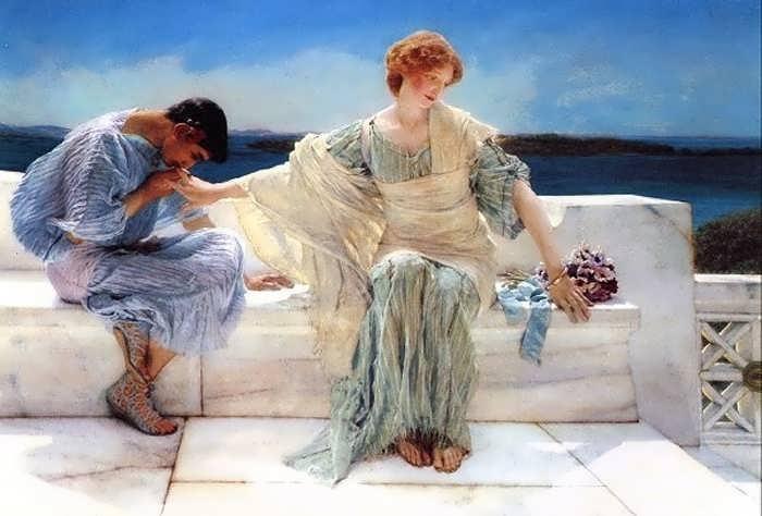 SirLawrenceAlma-Tadema-AskMeNoMore