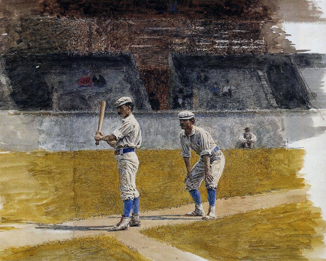 ThomasEakins-BaseballPlayersPracticing