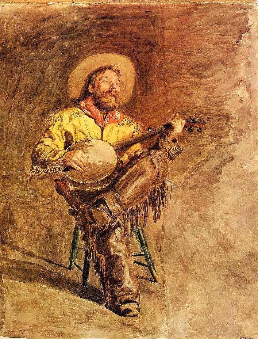 ThomasEakins-CowboySinging