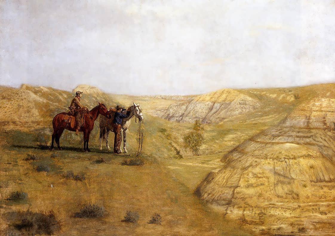 ThomasEakins-CowboysintheBadlands