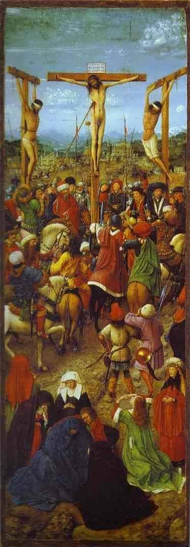 VanEyck-Crucifixion